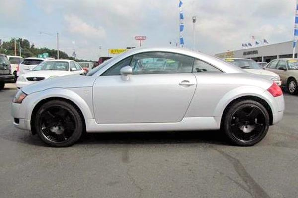 Used Audi TT 2000-2006: Where To Find The Cheapest Ones For Sale