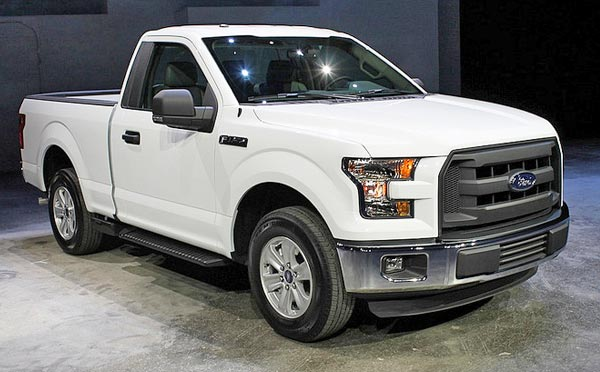 new ford f150 white