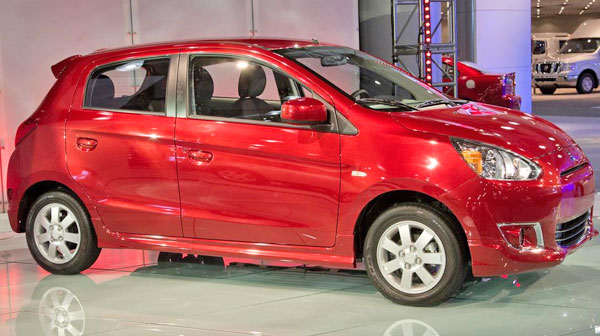 new mirage hatchback