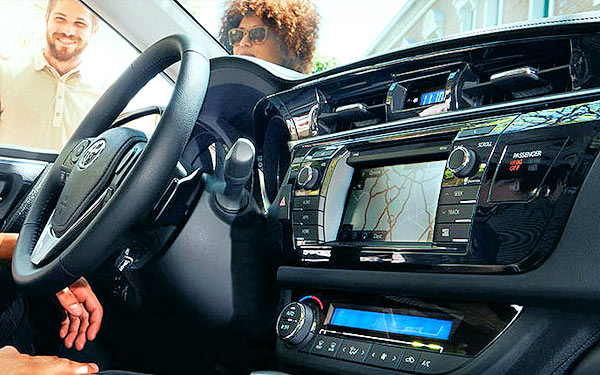 New 2015 Corolla S Premium Interior Dashboard