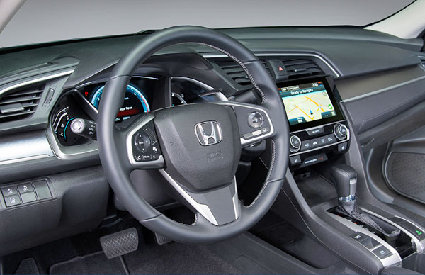 Interior - Honda Civic 2016 Showroom