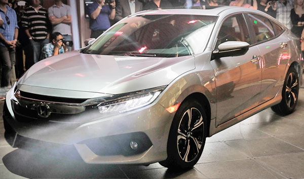 showroom release new civic