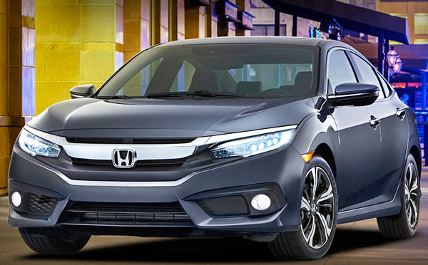 New 2016 Honda Civic release