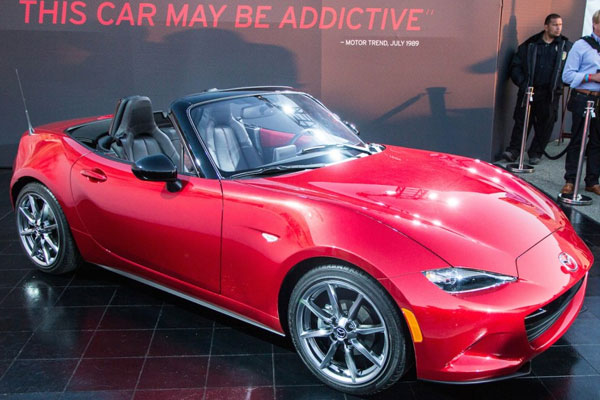 new mazda miata convertible