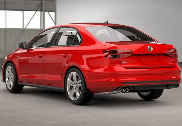 release 2016 VW Jetta GLI Sedan Red