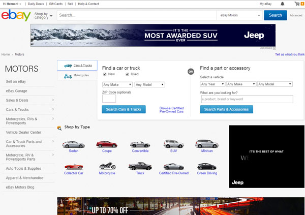 Used Cars For Sale On Ebay