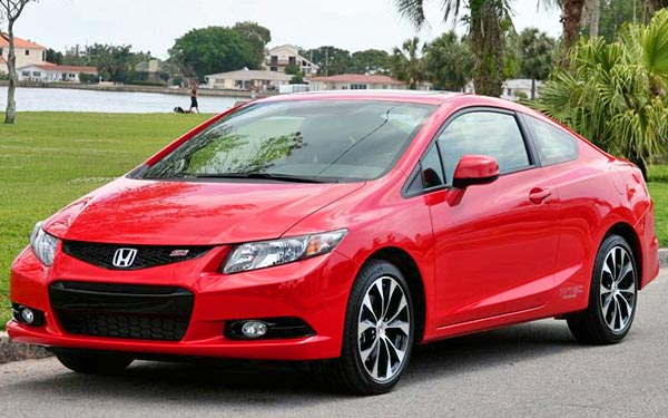 honda civic si 2013 sports coupe under 23000 for young drivers. Black Bedroom Furniture Sets. Home Design Ideas