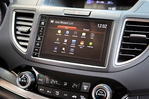 honda connect apps touchscreen
