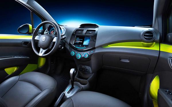 Chevrolet Spark 2013 Interior