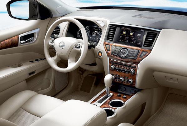 Nissan Pathfinder 2013 Interior