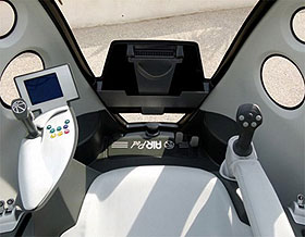<strong>AirPod</strong> - Air compressed car | Interior Controls