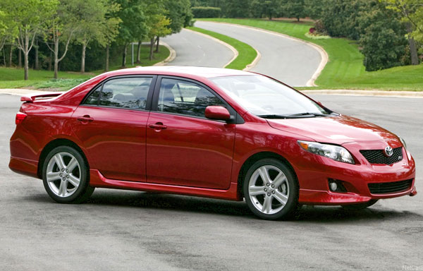The Toyota Corolla is another seasoned competitor in this segment.