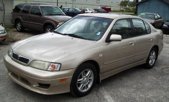 <strong>Cheapest Infiniti G20 2002 for sale.</strong> This gold one is the most affordable G20 '02 you can find at the moment of publishing this article. It has <span class='u'>133k miles</span> and is offered in <strong>Indianapolis, Indiana</strong> by Quality Motors Inc. car dealer. <strong>Price asking: </strong> <span class='u'>$2,995</span>. If you are interested, please give them a phone call at <span class='u'>877-894-8481</span> for more information.