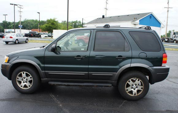 <strong>Cheapest Ford Escape 2003 for sale.</strong> This is the most affordable Escape '03 you can find at the moment of publishing this article. It has <span class='u'>207k miles</span> and is offered in <strong>Westlake, Ohio</strong> by John Lance Ford car dealer. <strong>Price asking: </strong> <span class='u'>$2,950</span>. If you are interested, please give them a phone call at <span class='u'>888-859-3985 </span> for more information.