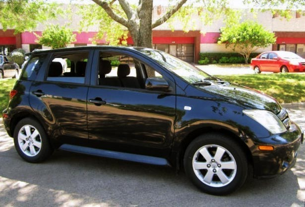 <strong>Cheapest Scion xA 2004 for sale.</strong> This black one is the most affordable xA '04 you can find at the moment of publishing this article. It has <span class='u'>141k miles</span> and is offered in <strong>Dallas, Texas</strong> by Autonet car dealer. <strong>Price asking: </strong> <span class='u'>$4,999</span>. If you are interested, please give them a phone call at <span class='u'>888-406-8175</span> for more information.