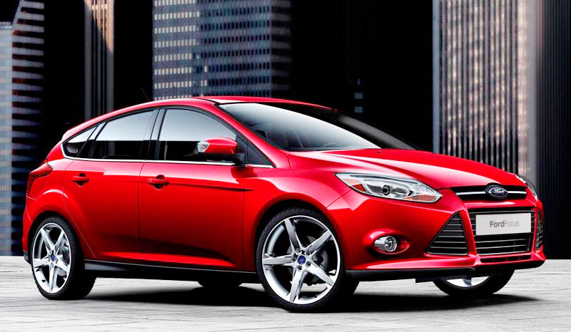 The new <strong>Ford Focus ST</strong> is the 1st sports model of Ford marketed globally