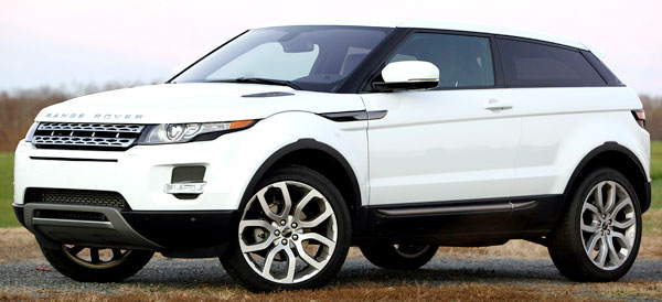 <strong>Ranger Rover Evoque Coupe 2012.</strong> The Evoque was created to draw the attention of younger consumers who might not have considered buying a Range Rover, therefore it comes in a more compact size but without losing the high levels of luxury, comfort, power and road capabilities that are the seal of the house.
