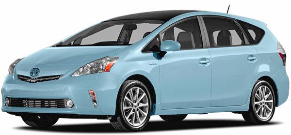 2013 Toyota Prius V Wagon Picture.
