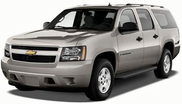 2013 Chevrolet Suburban 1500 LT Picture.