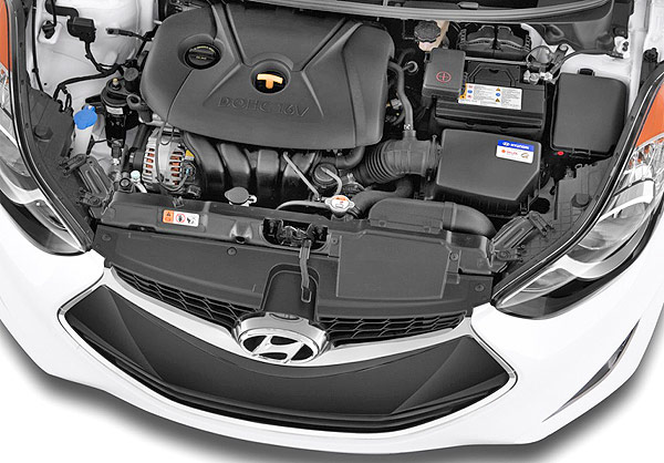 Engine: Hyundai Elantra Coupe 2013