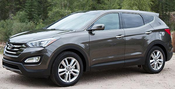 Hyundai Santa Fe Sport Midsize SUV Brown