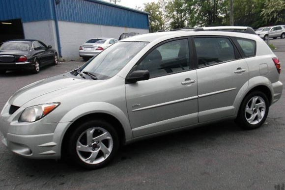 <strong>Cheapest Pontiac Vibe 2004 for sale.</strong> This silver one is the most affordable Vibe '04 you can find at the moment of publishing this article. It has <span class='u'>161k miles</span> and is offered in <strong>New Castle, Delaware</strong> by Delaware Public Auto Auction. <strong>Price asking: </strong> <span class='u'>$4,290</span>. If you are interested, please give them a phone call at <span class='u'>888-515-6178</span> for more information.