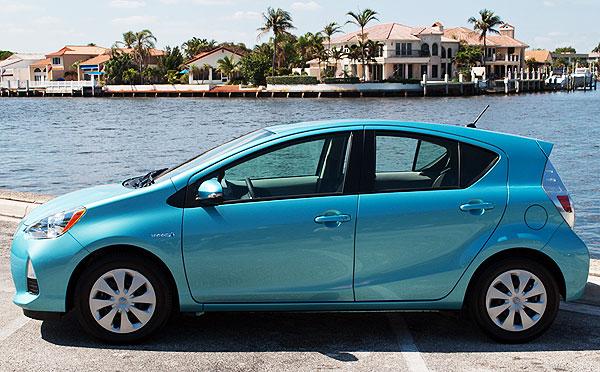 Subcompact Car: 2013 Toyota Prius C