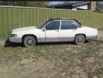 1989 Cadillac DeVille (White And Black)