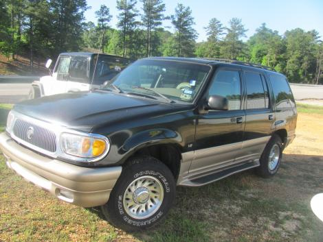 2000 mercury mountaineer suv for sale in jackson al under 5000. Black Bedroom Furniture Sets. Home Design Ideas