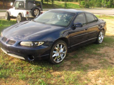 2001 pontiac grand prix sports sedan for sale in jackson al under 6000. Black Bedroom Furniture Sets. Home Design Ideas
