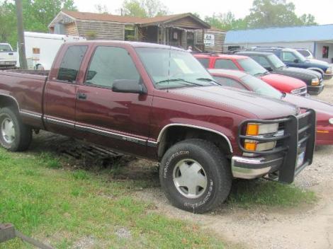 1998 Chevrolet Silverado C/K 1500 For Sale in Jackson AL ...