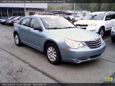 LIGHT BLUE Chrysler Sebring LX