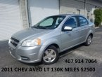 2011 Chevrolet Aveo under $3000 in Florida