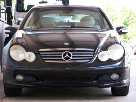 Used 2003 mercedes benz c class c230 sports coupe for sale for Used mercedes benz for sale in nc