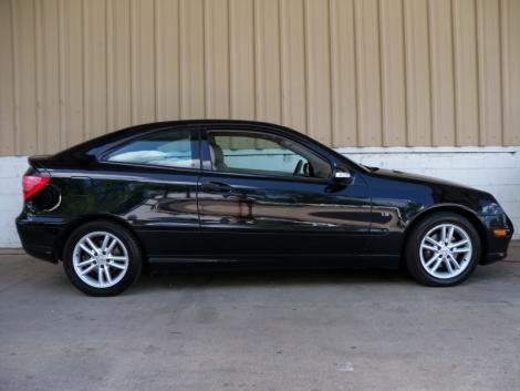 used 2003 mercedes benz c class c230 sports coupe for sale in nc. Black Bedroom Furniture Sets. Home Design Ideas
