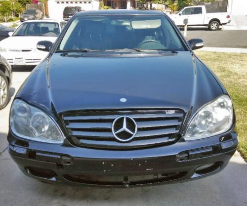 Mercedes-Benz S500 '03 Under $3K In Riverside, CA 92503 By