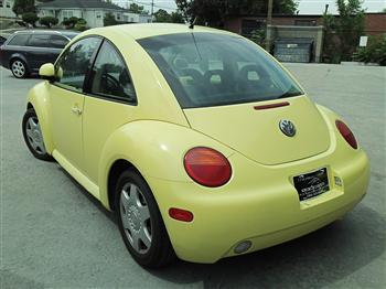 Photo #3: coupe: 1998 Volkswagen Beetle (Yellow)