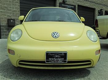 Photo #4: coupe: 1998 Volkswagen Beetle (Yellow)