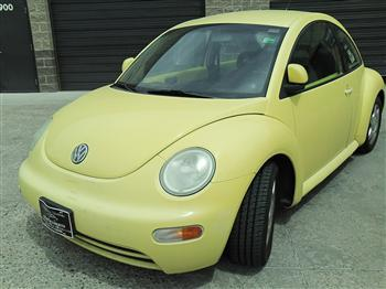 Photo #8: coupe: 1998 Volkswagen Beetle (Yellow)
