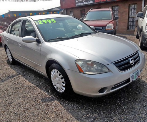 Nissan Altima 2.5S '03 Less Than $3K In Brooks, OR 97305