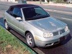 2001 Volkswagen Cabrio in CA