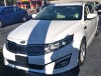 2015 KIA Optima (White)