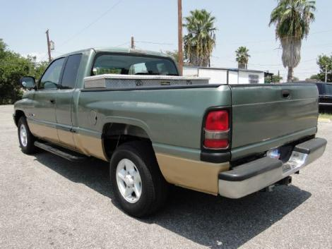 Photo #6: truck: 2000 Dodge Ram (Green)