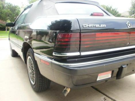 1989 Chrysler LeBaron Highline For Sale in San Antonio TX ...