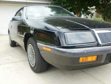 1989 chrysler lebaron highline for sale in san antonio tx under 7000. Black Bedroom Furniture Sets. Home Design Ideas