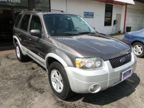 2005 ford escape hybrid for sale in san antonio tx under 7000. Black Bedroom Furniture Sets. Home Design Ideas