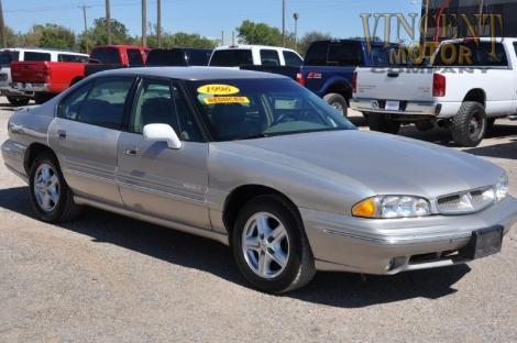 Cheap Dependable Used Cars 1996 Pontiac Bonneville SE For Sale in Abilene TX Under $4000 ...