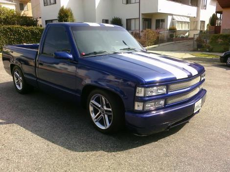 Custom Chevy Silverado 1500