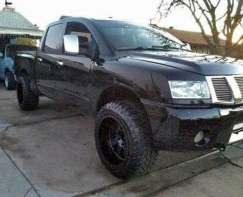 Lifted Nissan Titan >> 05 Nissan Titan Lifted Truck In Tucson Az 85735 8k 8500 Black