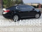 2010 Buick LaCrosse under $7000 in California